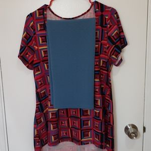 Lularoe Large Classic T top and Large Cassie Skirt